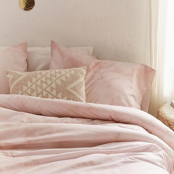 Urban Outfitters Bedding Pink Marble Twin Xl Poshmark